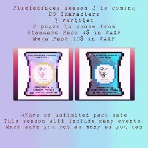 pixeledfaces season 2 packs