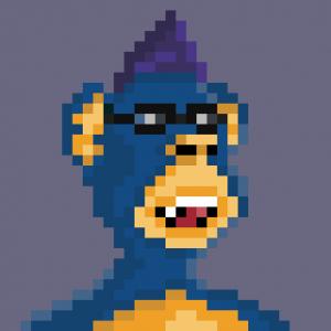 Pixeled Ape 07